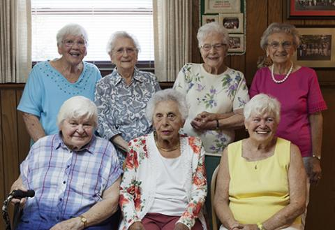75 years of friendship formed at Catholic School